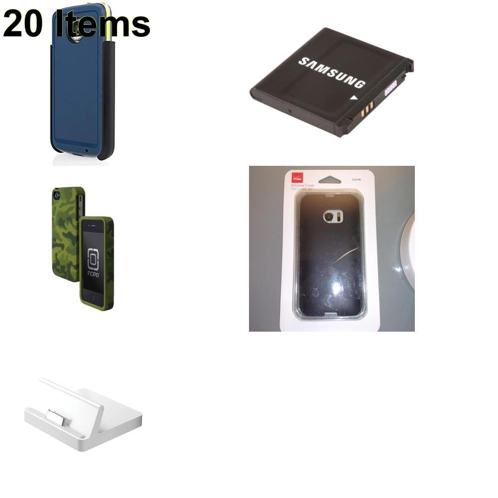 20 X **NEW** Phone Cases, Electronics and More (Apple,Incipio,Samsung,Verizon)