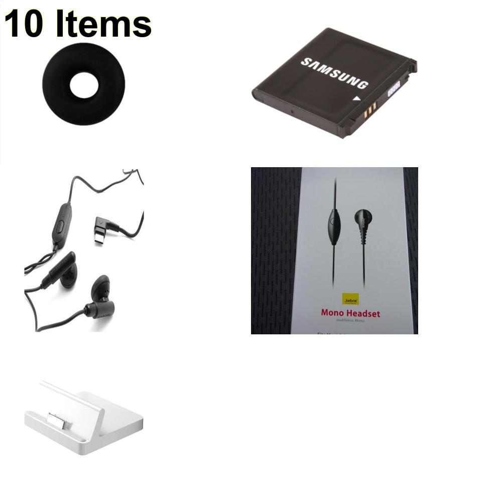 10 X **NEW** Phone Cases, Electronics and More (Apple,Jabra,Jawbone,Samsung)