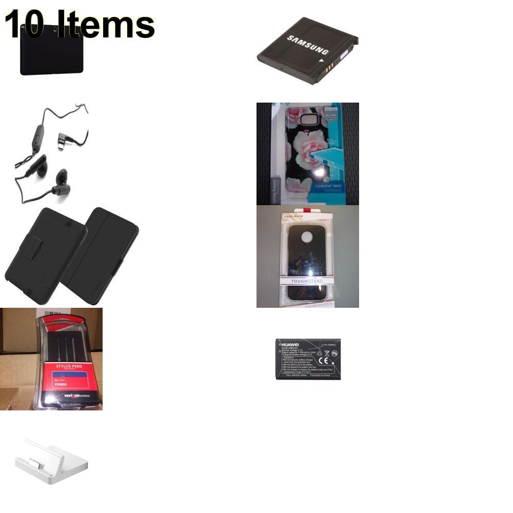 10 X **NEW** Phone Cases, Electronics and More (Apple,Cas-Mate,Huawei,Incipio,Kate Spade,Samsung,Speck,UTStarcom,Verizon)