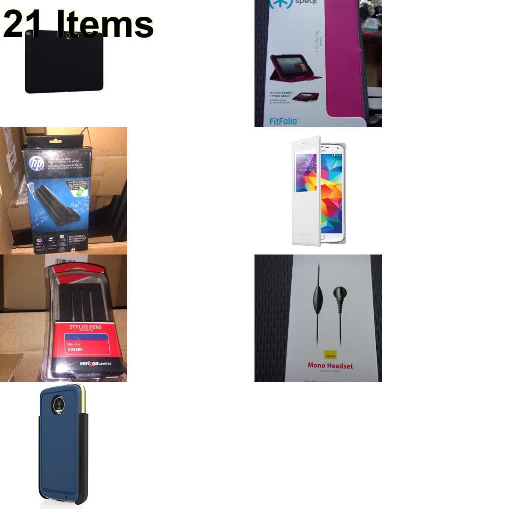 21 X **NEW** Phone Cases, Electronics and More (HP,Incipio,Jabra,Samsung,Speck,UTStarcom,Verizon)