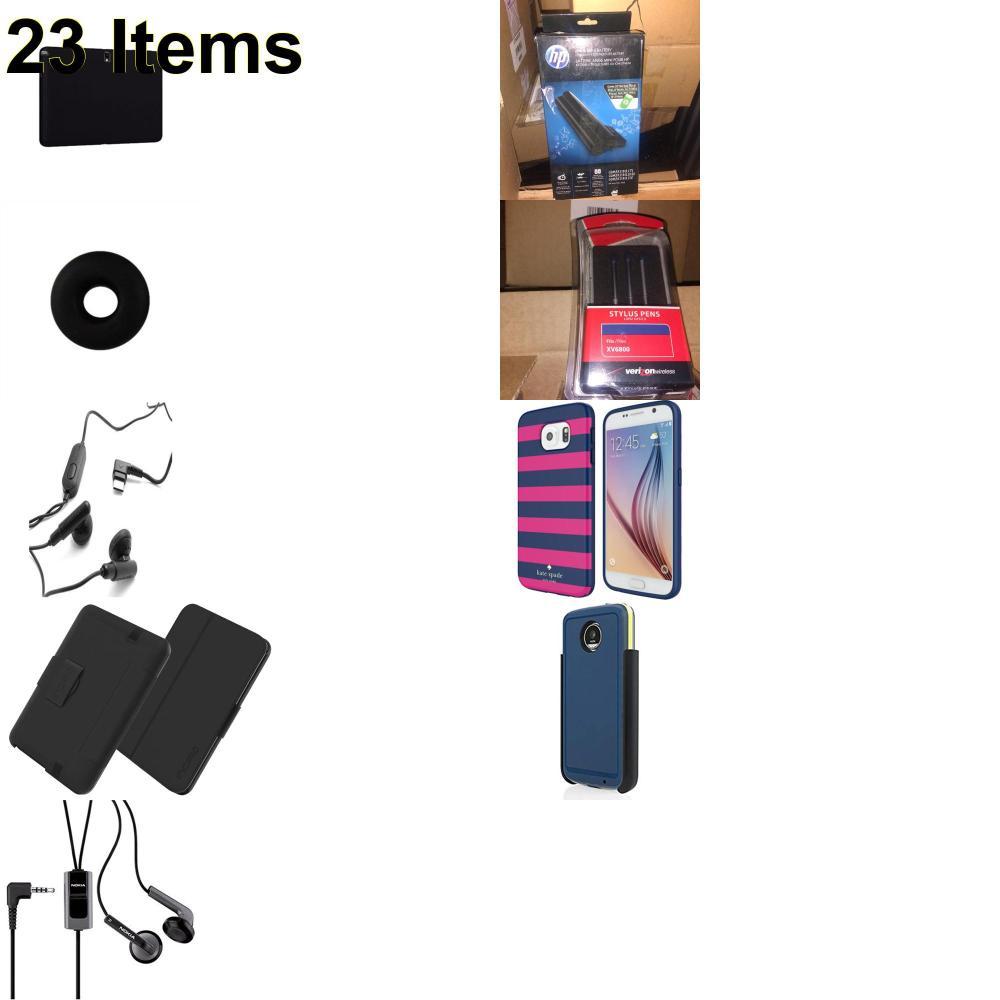 23 X **NEW** Phone Cases, Electronics and More (Apple,Cas-Mate,HP,Huawei,Incipio,Jabra,Jawbone,Kate Spade,Nokia,Samsung,Speck,Tech21,UTStarcom,Verizon)