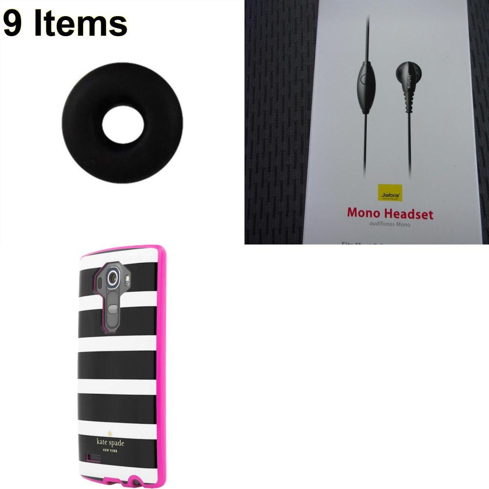 9 X **NEW** Phone Cases, Electronics and More (Jabra,Jawbone,Kate Spade)