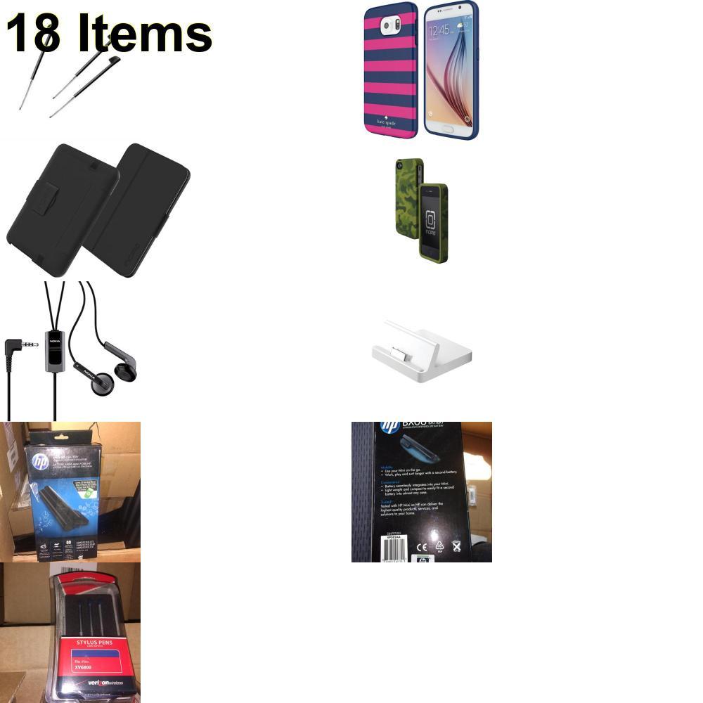 18 X **NEW** Phone Cases, Electronics and More (Apple,HP,Incipio,Kate Spade,Nokia,Palm,UTStarcom)