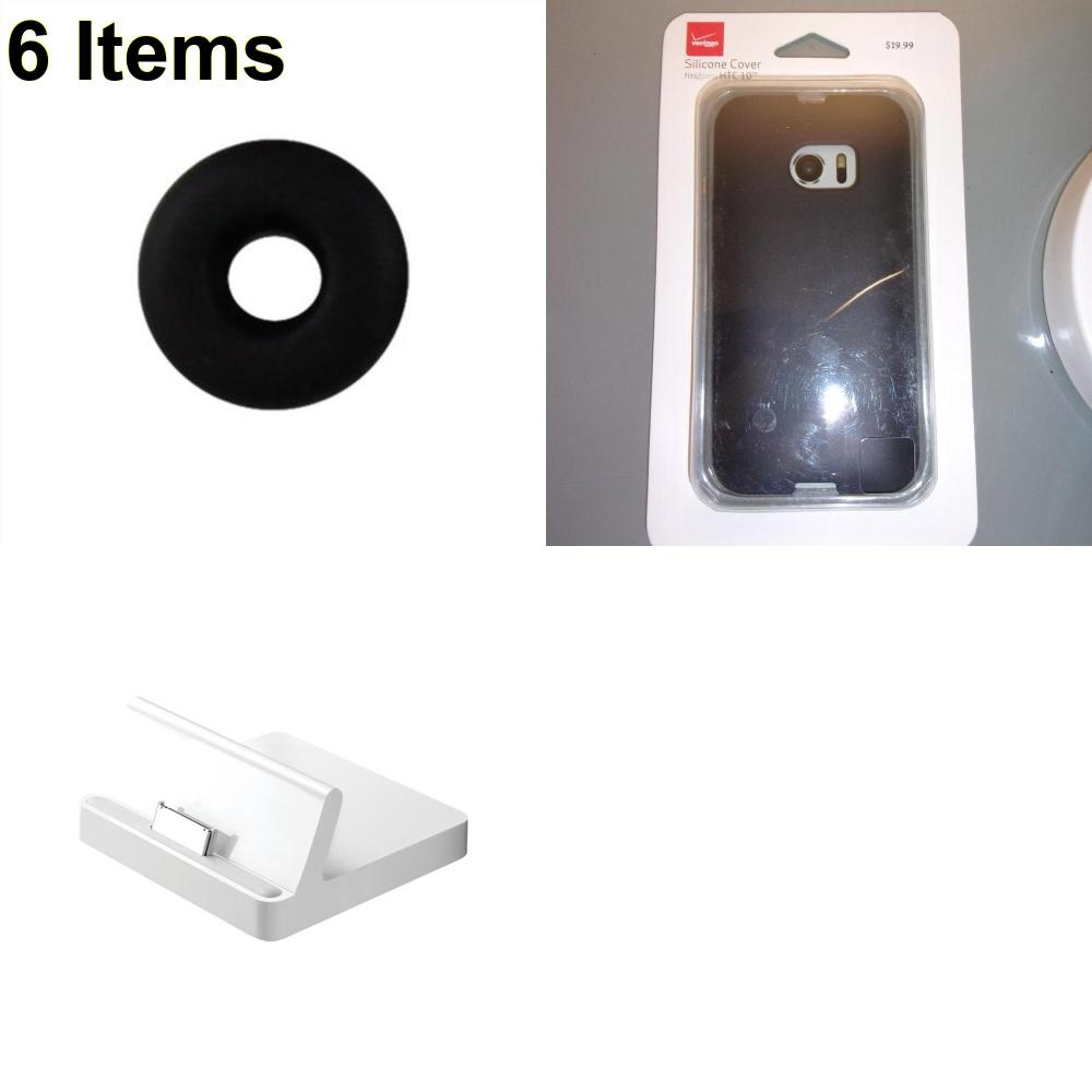 6 X **NEW** Phone Cases, Electronics and More (Apple,Jawbone,Verizon)