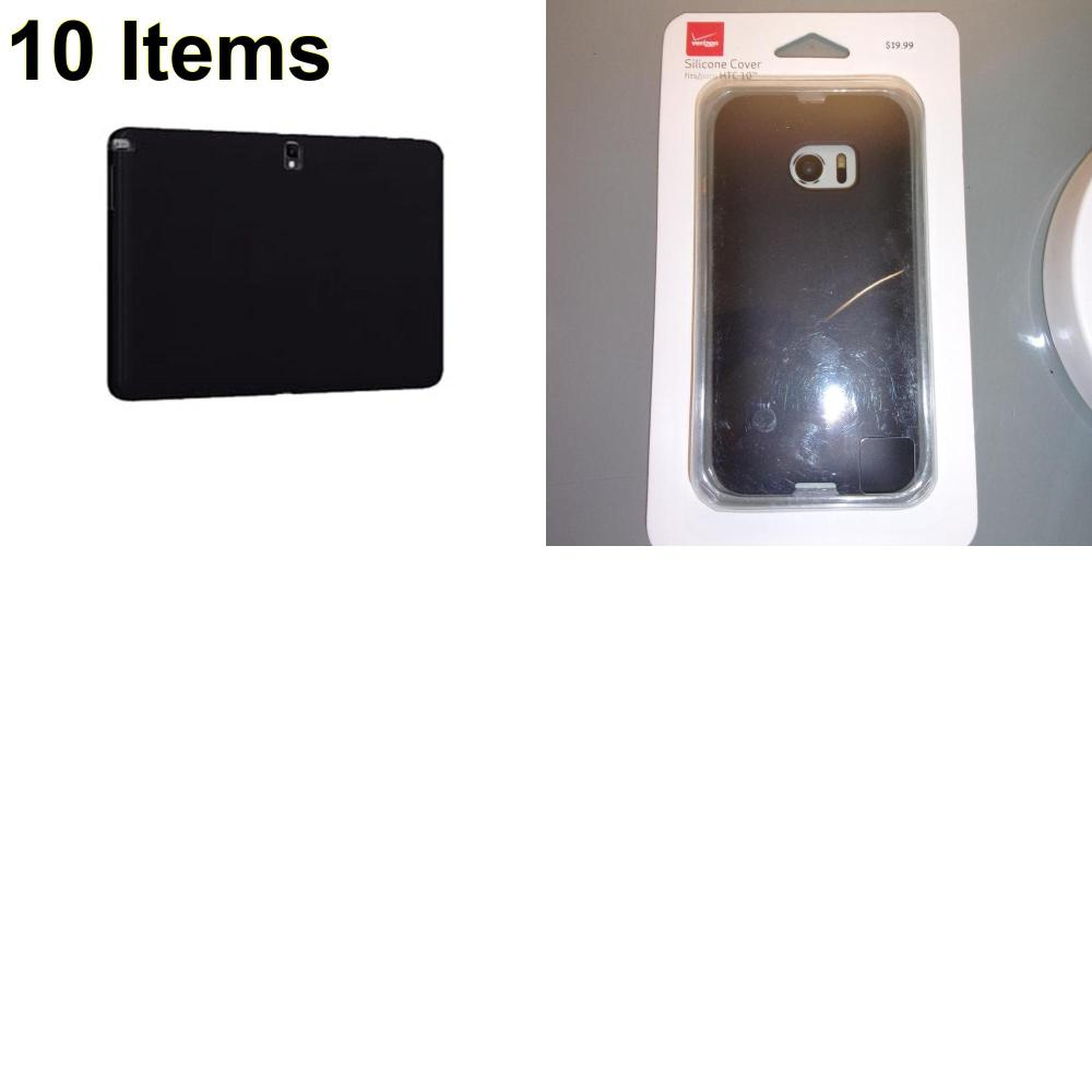 10 X **NEW** Phone Cases, Electronics and More (Verizon)