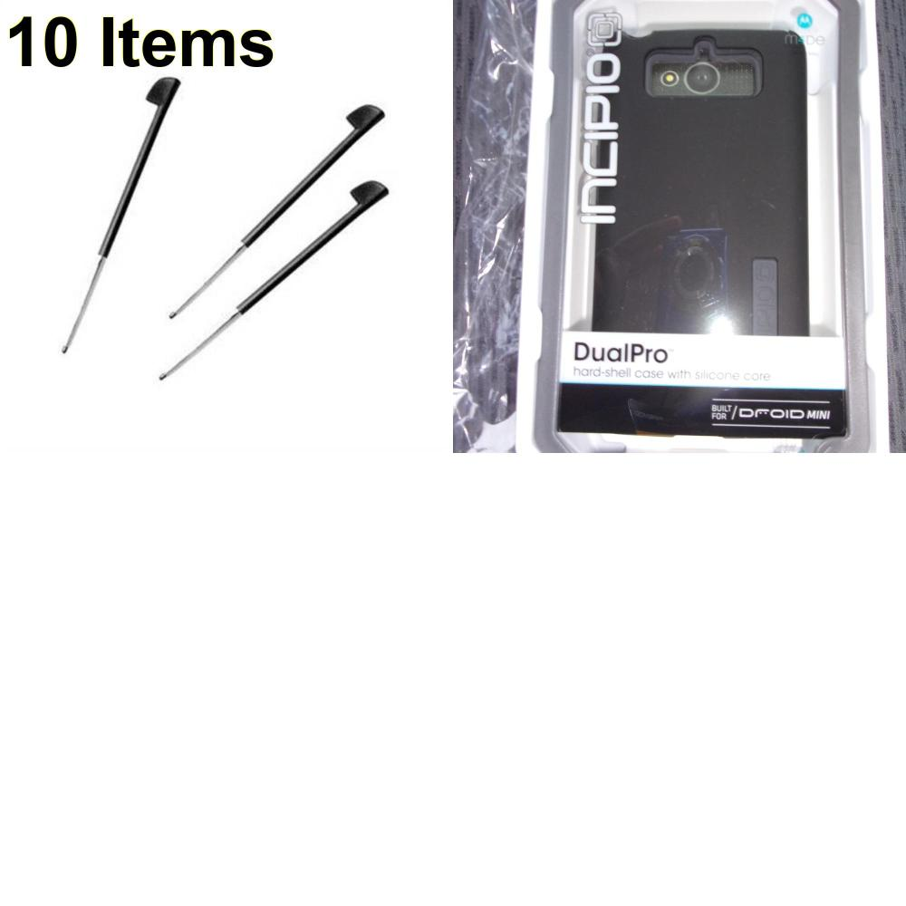 10 X **NEW** Phone Cases, Electronics and More (Incipio,Palm)
