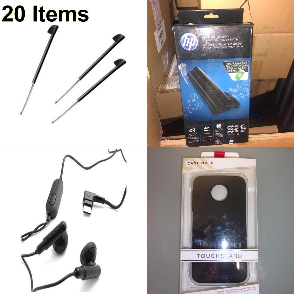 20 X **NEW** Phone Cases, Electronics and More (Cas-Mate,HP,Palm,Samsung)