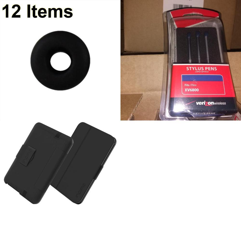 12 X **NEW** Phone Cases, Electronics and More (Incipio,Jawbone,UTStarcom)
