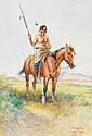 Joseph Scheuerle (1873-1948), Wamdi Sapa-Sioux