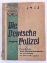 1943 Police Organisation Book and Calendar