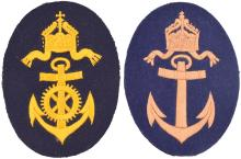 TWO ITEMS OF GERMAN NAVAL INSIGNIA
