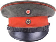 PRUSSIAN NCO'S VISOR CAP