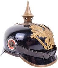 PRUSSIAN ENLISTED MANS TIN PICKELHAUBE