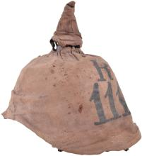 BADEN RESERVE REGIMENT 111 ENLISTED MANS PICKELHAUBE WITH FIELD COVER