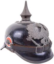 PRUSSIAN ENLISTED MANS ARMY CORP MARKED PICKELHAUBE
