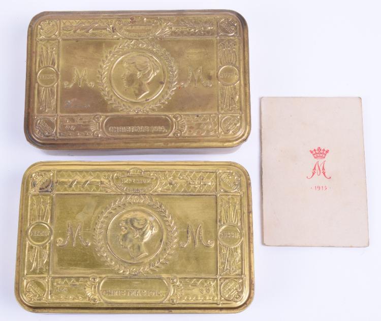Great War 1914 Christmas Princess Mary Gift Tin