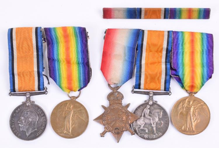 Great War Medals of Two Brothers