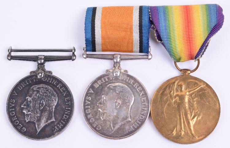 Great War 17th Battalion (2nd City) Manchester Regiment 1918 Casualty British War Medal