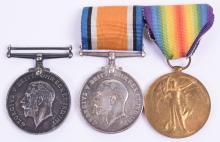 Great War 17th Battalion (2nd City) Manchester Regiment 1918 Casualty British War Medal