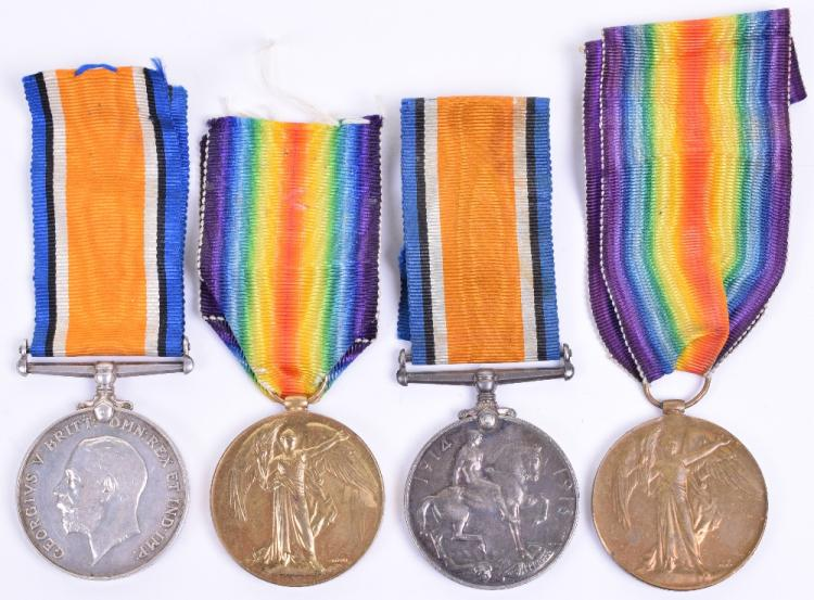 Great War Medal Pairs