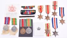 Selection of WW2 Campaign Medals