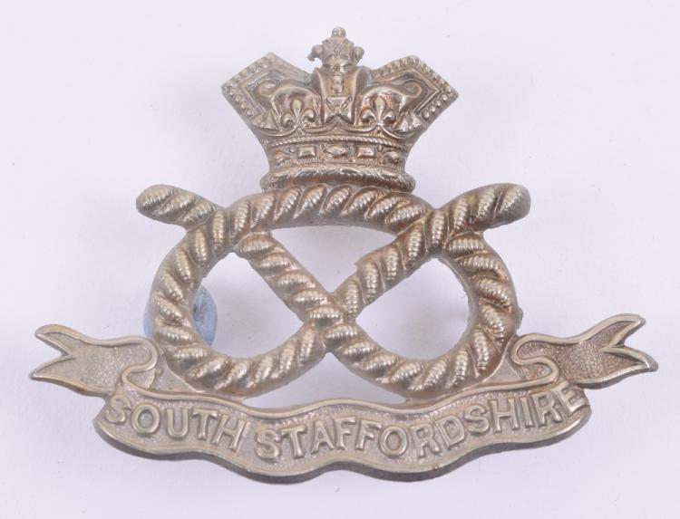 Victorian South Staffordshire Volunteers Cap Badge