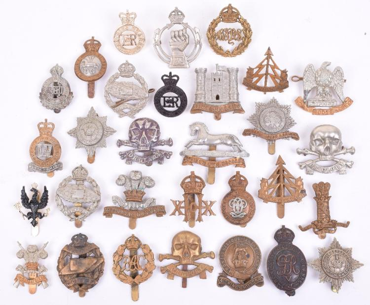 Selection of Cavalry Regiments & Armoured Corps Cap Badges