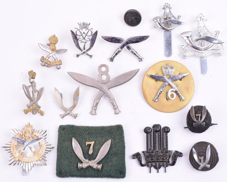 Selection of Gurkha Regiment Cap Badges