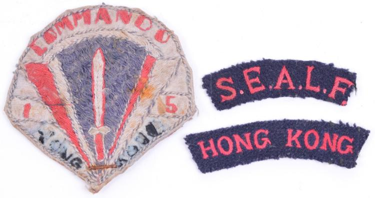 Unusual Commando Hong Kong Cloth Badge