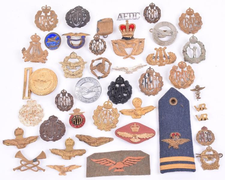 Selection of Royal Air Force and Colonial Air Forces Badges