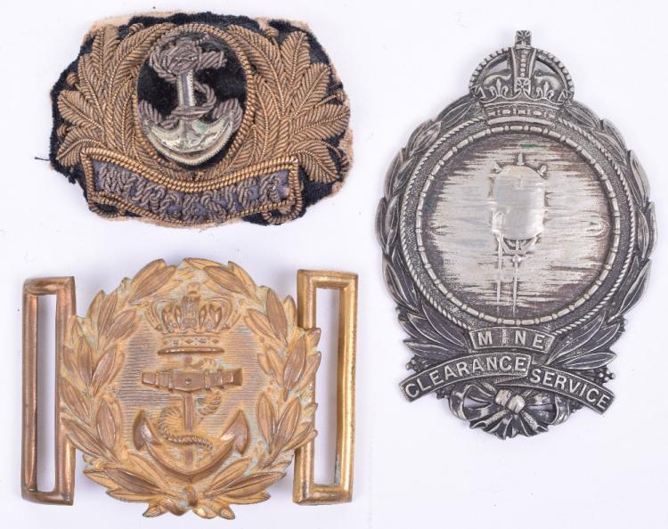 Victorian Naval Officers Belt Buckle