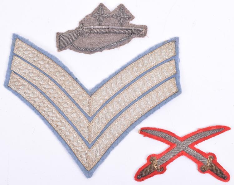 Victorian Rifle Volunteers Marksman's Bullion Badge