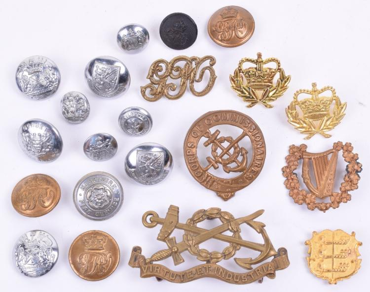 Selection of Badges and Insignia