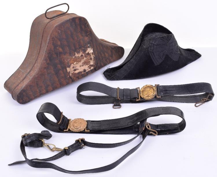 Royal Navy Officers Dress Bicorn Hat