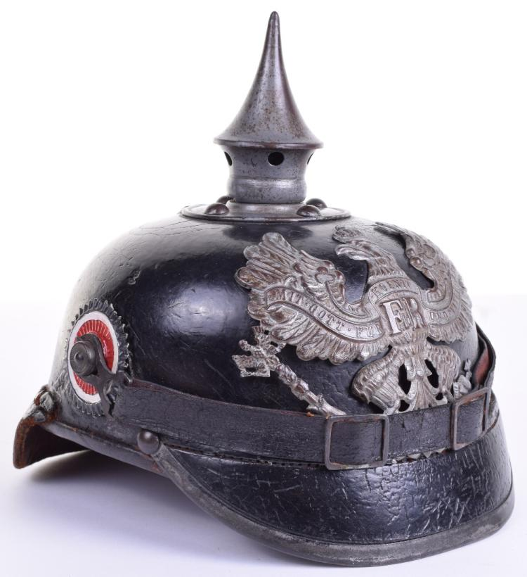 WW1 Imperial German Enlisted Mans Pickelhaube
