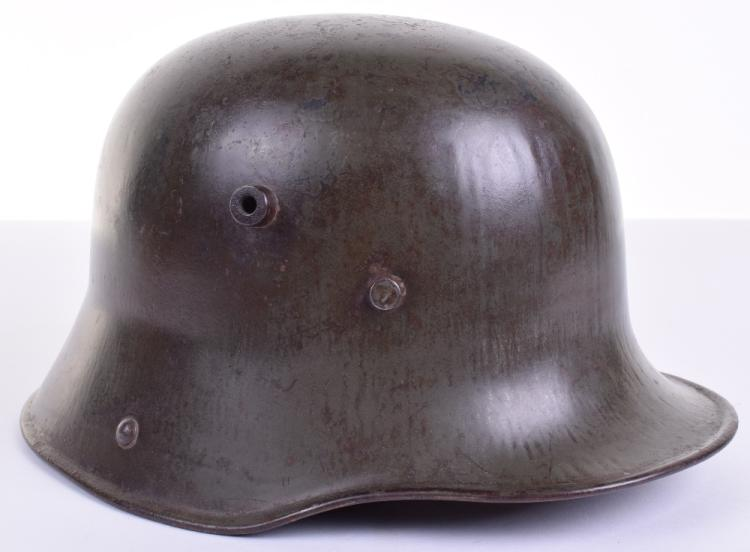 WW1 Imperial German M-16 Steel Combat Helmet