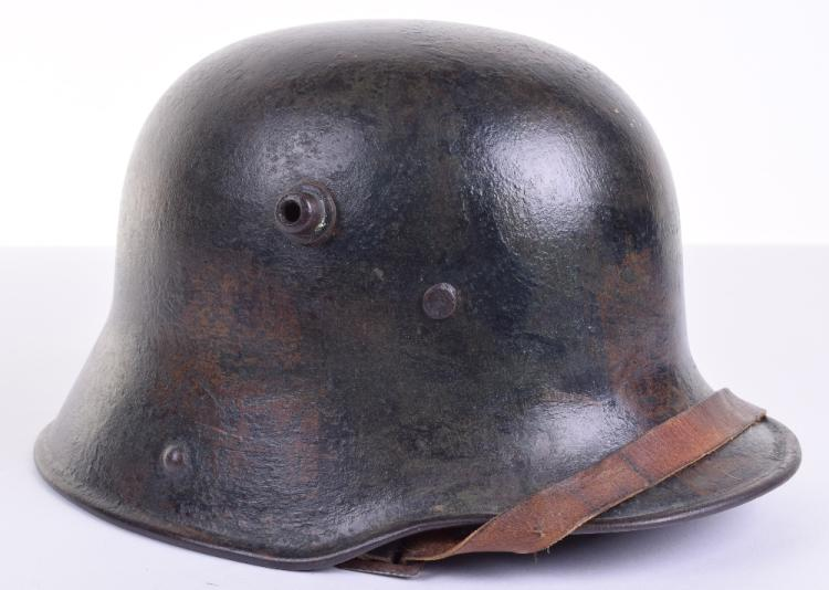 Imperial German M-16 Camouflaged Steel Helmet