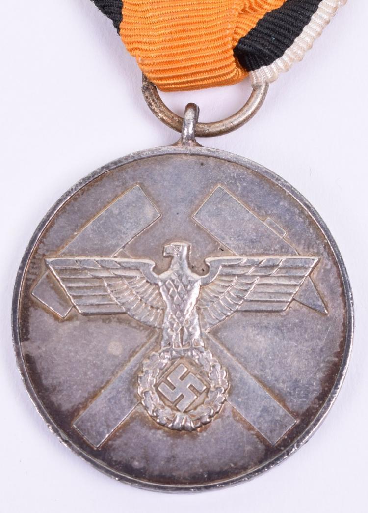 Third Reich Mining Association Service Medal