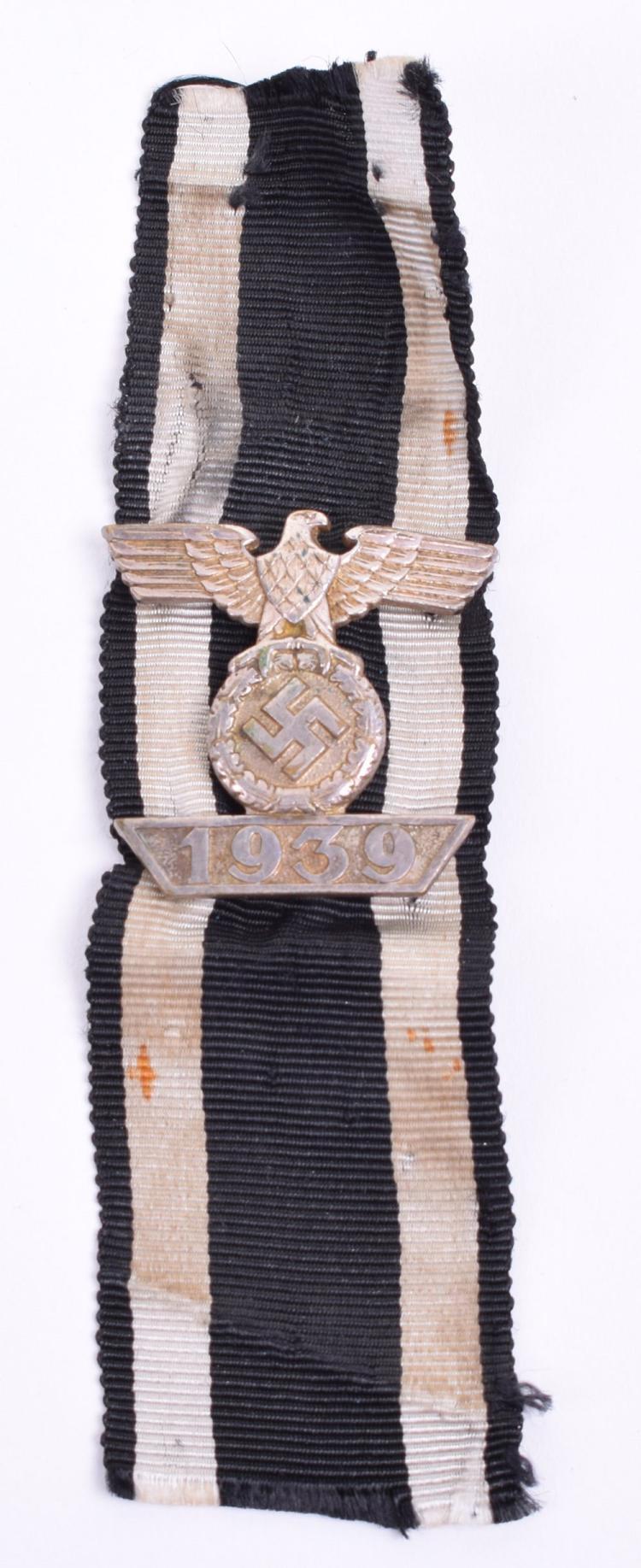 Third Reich Bar to the Iron Cross 2nd Class (Spange)