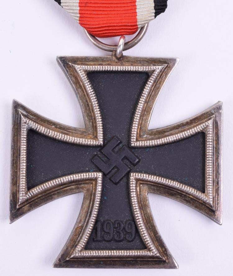 "Scarce Round ""3"" Variation Iron Cross 2nd Class Medal"