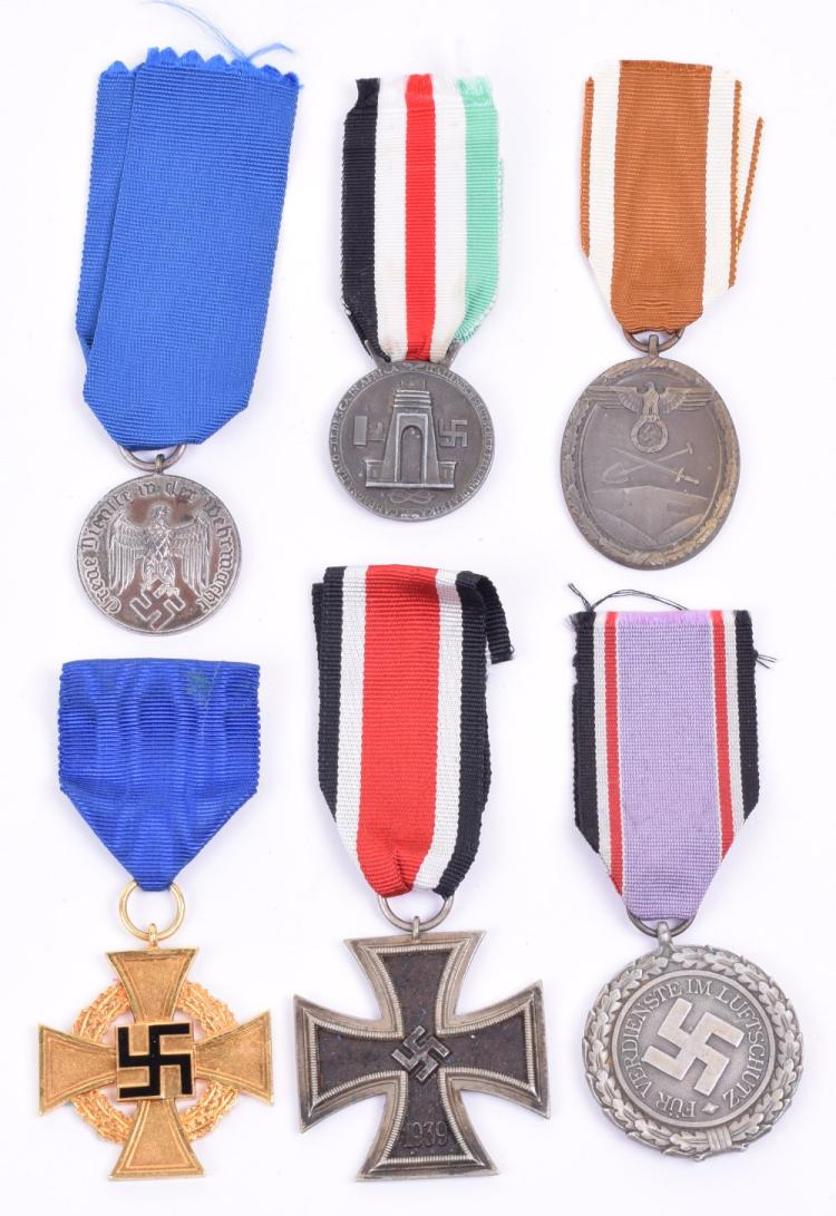Selection of WW2 German Medals