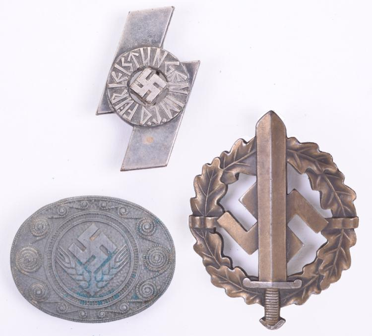 Third Reich SA Sports Badge