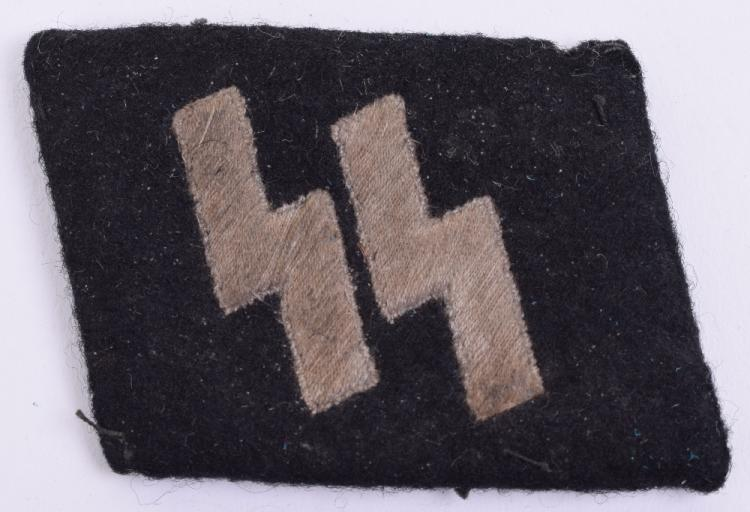 Waffen SS Other Ranks Collar Tab