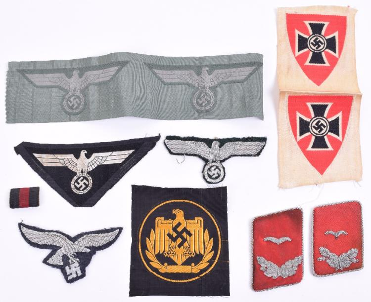 Selection of WW2 German Cloth Insignia