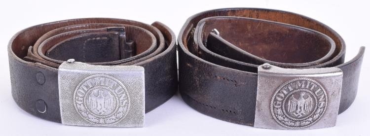 German Army Belt & Buckle Set