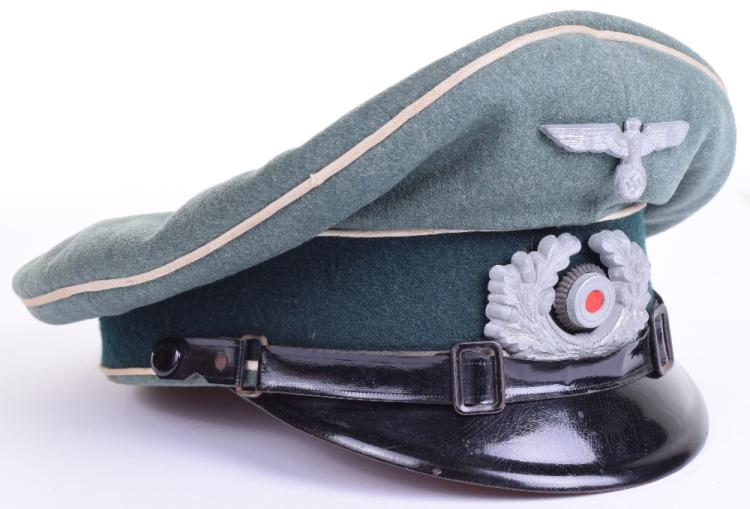 WW2 German Infantry NCO's Peaked Cap
