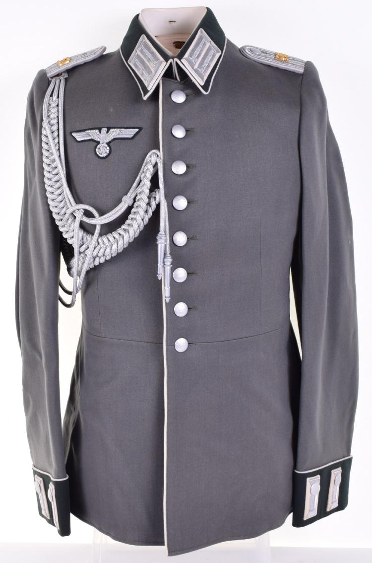 WW2 Parade Tunic for an Officer in Infantry Reserve Regiment 59