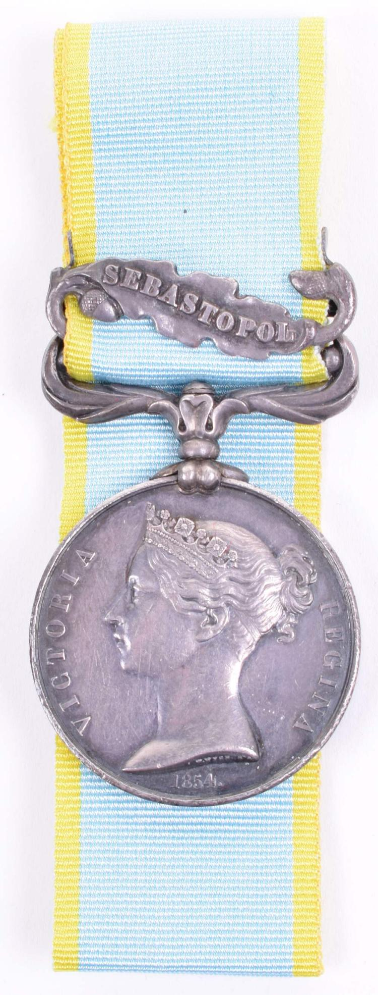 Crimea 1854 Campaign Medal 72nd (Duke of Albany's Own Highlanders) Regiment of Foot