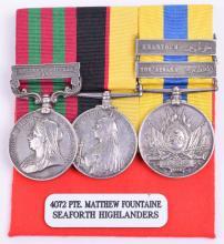 Victorian Indian Campaign and Sudan Medal Trio