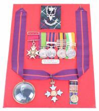 C.B. C.B.E Group of Six Awarded to Lieutenant Colonel George Mackintosh 78th Seaforth Highlanders